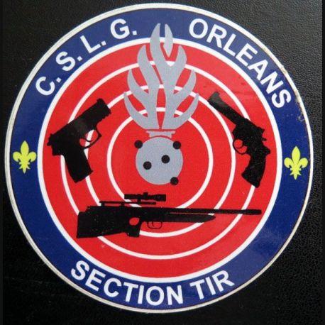 Autocollant de la Section de Tir du CSLG Orléans