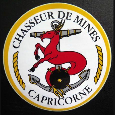 Autocollant du chasseur de mines Capricorne