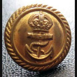 Bouton de la marine anglaise dez Firmin London diamètre 1,7 cm