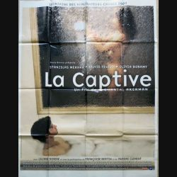 "AFFICHE FILM : affiche de cinéma du film "" La captive"" dimension 115 x 158 mm (E016)"