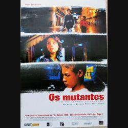 """AFFICHE FILM : affiche de cinéma du film """"Os Mutantes"""" 1999 dimension 40 x 60 cm (E039)"""