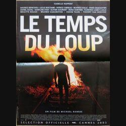 """AFFICHE FILM : affiche de cinéma du film """"Le temps du loup"""" 2003 dimension 40 x 54 cm (E039)"""