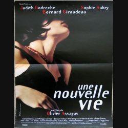 """AFFICHE FILM : affiche de cinéma du film """"Une nouvelle vie"""" de 1993 dimension 40 x 51 cm (E039)"""