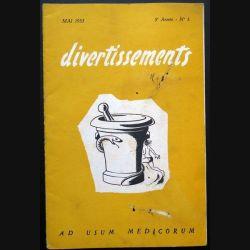 Divertissements n° 5 - mai 1953 - Ad usum medicorum (C 195)