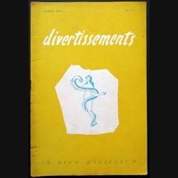 Divertissements n° 3 - mars 1955 - Ad usum medicorum (C 195)