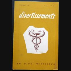 Divertissements n° 10 - Octobre 1952 - Ad usum medicorum (C 195)