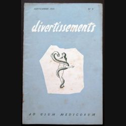 Divertissements n° 9 - septembre - 1955 Ad usum medicorum (C 195)
