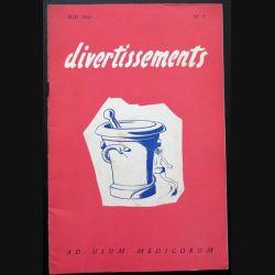 Divertissements n° 5 - mai 1955 - Ad usum medicorum (C 195)