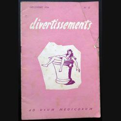 Divertissements n° 12 - décembre 1954 - Ad usum medicorum (C 195)
