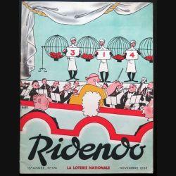 Ridendo n° 174 - novembre 1953 Humour La Loterie nationale (C 195)
