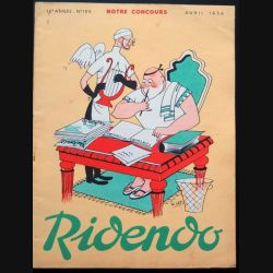 Ridendo n° 199 - Avril 1956 Humour Notre concours (C 195)