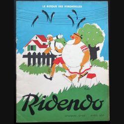 Ridendo n° 169 - Avril 1953 Humour le retour des Hirondelles (C 195)