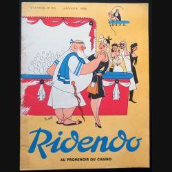 Ridendo n° 196 - Janvier 1956 Au promenoir du Casino (C 195)
