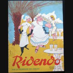 Ridendo n° 167 - Février 1953 Sur la promenade des Anglais (C 195)