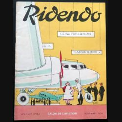 Ridendo n° 184 - Novembre 1954 Salon de l'Aviation (C 195)