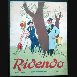 Ridendo n° 208 - Mars 1957 Cure de Printemps (C 195)