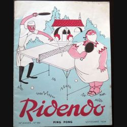 Ridendo n° 182 - Septembre 1954 Ping Pong (C 195)