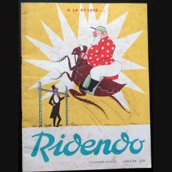 Ridendo n° 206 - Janvier 1957 A la Sainte Luce (C 195)