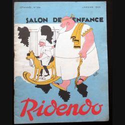 Ridendo n° 166 - Janvier 1953 Salon de l'enfance (C 195)