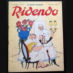 Ridendo n° 177 - Février 1954 La Saint Valentin (C 195)