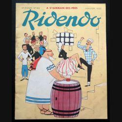 Ridendo n° 186 - Janvier 1955 A Saint germain des Prés (C 195)