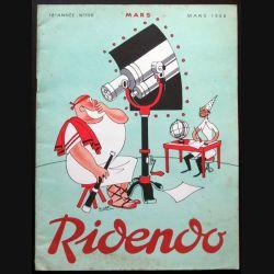 Ridendo n° 198 - Mars 1956 Humour Mars (C 195)