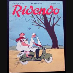 Ridendo n° 188 - Mars 1955 Humour En scooter (C 195)