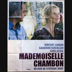 """AFFICHE FILM : affiche de cinéma du film """" Mademoiselle Chambon """" dimension 115 x 158 cm (E019)"""