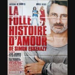 """AFFICHE FILM : affiche de cinéma du film """" La folle histoire d'amour de Simon Eskenazy """" 115 x 158 cm (E019)"""