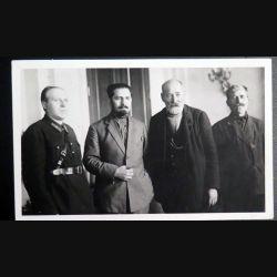 URSS : photo 17,5 x 11 cm de M. Koganovitch et autres membres du gouvernement soviétique 1930 (C194)