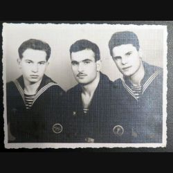 URSS : photo 8,5 x 11,3 cm Marins des gardes frontières de la Mer Baltique 1960 (C194)