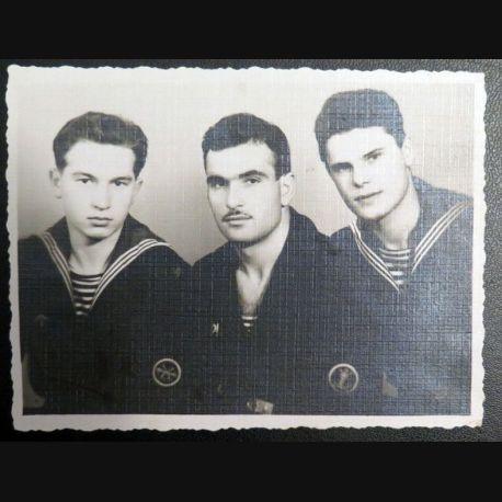 URSS : photo 8,5 x 11,3 cm Marins des gardes frontières de la Mer Baltique 1960 (C200)