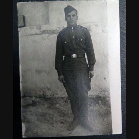 URSS : photo 9 x 12 cm Officier élève 1958 (C200)