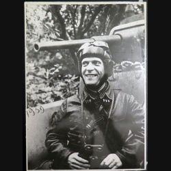 URSS : photo 23,3 x 16,3 cm Commissaire du régiment blindé soviétique1939 (C194)
