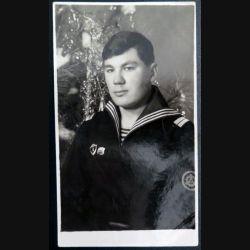 URSS : photo 8 x 14 cm sergent de 2° classe de la marine soviétique (C194)