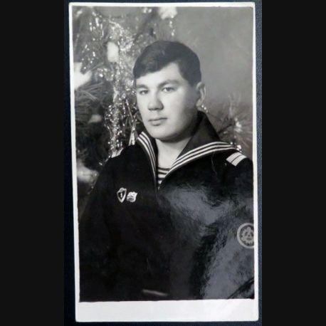 URSS : photo 8 x 14 cm sergent de 2° classe de la marine soviétique (C200)