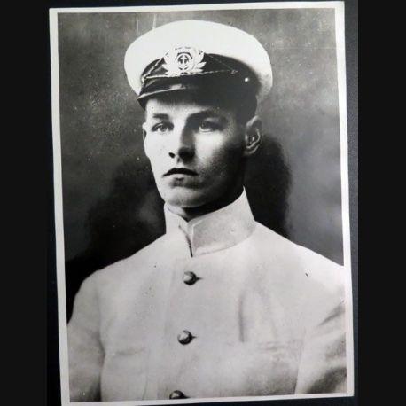 "URSS : photo 24,2 x  18 cm Albert Erdman commandeur du navire de 3° classe "" Maly "" 1919 (C200)"
