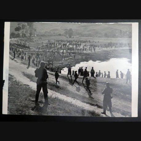URSS : photo 21 x  28 cm Premiers mois de la Grande guerre patriotique Ukraine 1941 (C200)
