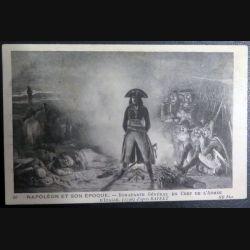 Carte postale Bonaparte général en chef de l'armée d'italie 1796 oblitérée