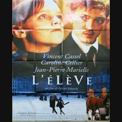 """AFFICHE FILM : affiche de cinéma du film """" L'Elève"""" de 1996 dimension 115 x 158 cm (E023)"""