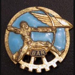 BAR : insigne métallique de la base aérienne 721 de Rochefort de fabrication Drago A. 521 en émail