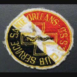 CSSO : insigne tissu du club du service de santé d'Orléans