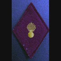 LOSANGE DE BRAS MODÈLE 45 : service de santé sous officier avec crochets arrière