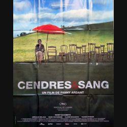 """AFFICHE FILM : affiche de cinéma du film """" Cendres & Sang """" dimension 115 x 158 cm (E028)"""