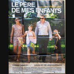 """AFFICHE FILM : affiche de cinéma du film """" Le père de mes enfants """" dimension 115 x 158 cm (E028)"""