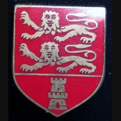 ÉCU de Gendarmerie de la CCRG Basse Normandie Drago G. 2136 émail sans écrou