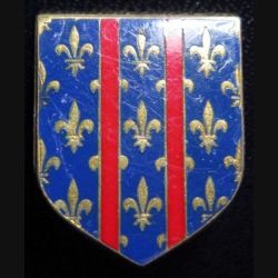 ECU de Gendarmerie : 2° groupement gend mobile d'Arcueil Drago G. 2173 en émail sans écrou