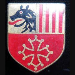 ÉCU de Gendarmerie de la CCRG (cdt de circo régionale de la gend) Languedoc Roussillon Drago Paris G. 1994 sans écrou