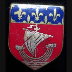 ECU de Gendarmerie de la garde républicaine de Paris de fabrication Drago sans écrou