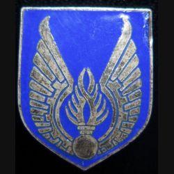 ECU de Gendarmerie de l'air sans fabricant en émail (vieil insigne) sans écrou